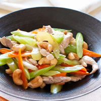 Chicken Stir Fry With Celery